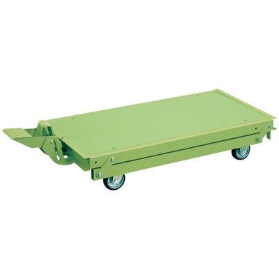 サカエ 作業台オプションペダル昇降台車 KTW-157DPS