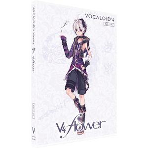ガイノイド VOCALOID4 Library v4 flower 単体版 GVFJ-10001【納期目安:1週間】