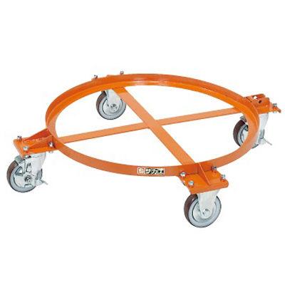 サカエ 円形ドラム台車 DR-1M