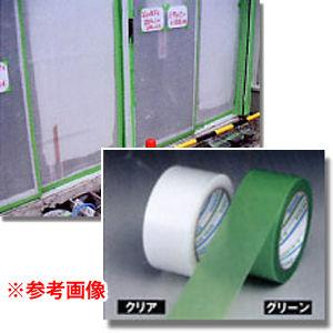 ダイヤテックス パイオラン塗装養生用テープY-09-CL(クリア)100mmx25m18巻入 Y09CL100-25