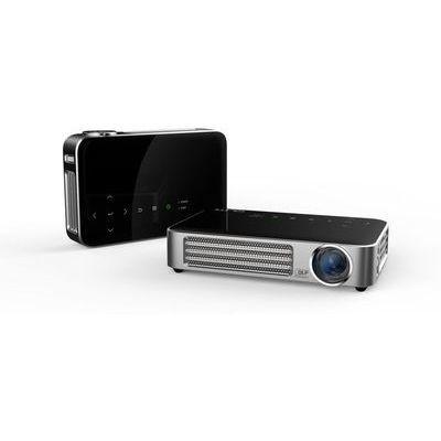 VIVITEK QUMI 超軽量475g 高輝度800ルーメン LEDモバイルプロジェクター WXGA 720P Wi-Fi内蔵 インターネット接続可 MHL接続対応 Q6-BK【納期目安:05/中旬入荷予定】