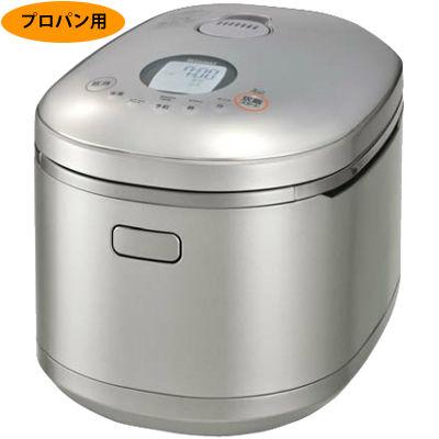 リンナイ ガス炊飯器「直火匠(じかびのたくみ)」2~11合炊き(パールシルバー、プロパン用) RR-100MST2(PS)-LPG