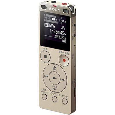 ソニー 4GBメモリー内蔵USBダイレクト接続ステレオICレコーダー (ゴールド) (ICDUX560FN) ICD-UX560F-N