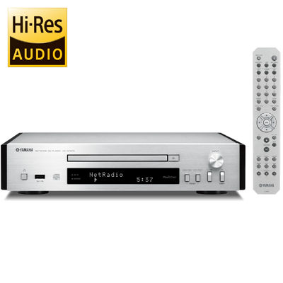 ヤマハ ハイレゾ音源などさまざまな音楽コンテンツが楽しめるネットワークCDプレーヤー (シルバー) (CDNT670) CD-NT670【納期目安:1週間】