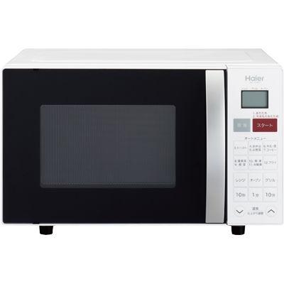 ハイアール 重量センサー搭載。ワンタッチ自動あたためができるオーブンレンジ(ホワイト) JM-V16C-W【納期目安:1週間】