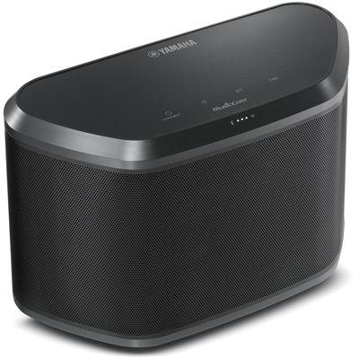 ヤマハ ワイヤレスストリーミングスピーカー【アンプ内蔵/Wi-Fi/Bluetooth対応】(ブラック) WX-030(B)【納期目安:1週間】