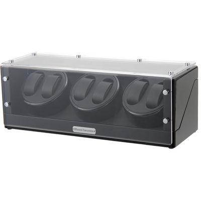 ロイヤルハウゼン ワインダー 6本巻 GC03 T102BB ワインディングマシーン 腕時計/自動巻き機 GC03-T102BB