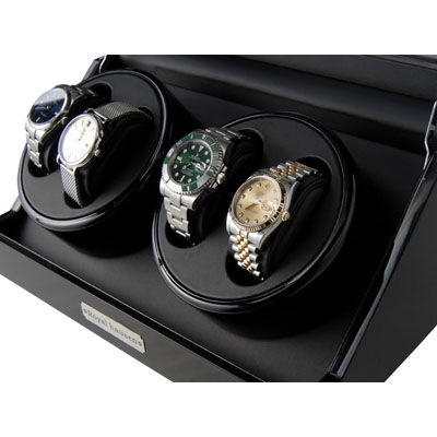 ロイヤルハウゼン ワインダー 4本巻 GC03 D102BB ワインディングマシーン 腕時計/自動巻き機 GC03-D102BB
