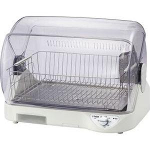 タイガー 約100度の高温熱風で清潔乾燥!省スペース・コンパクト設計!食器乾燥機〈サラピッカ〉温風式 DHG-S400-W【納期目安:2週間】