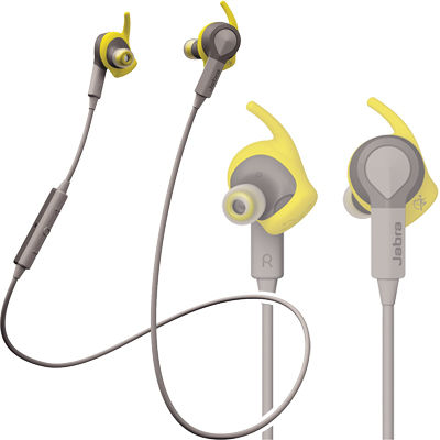 JABRA BLUETOOTHヘッドセット(イエロー) SPORT_COACH_Yellow