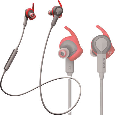 JABRA BLUETOOTHヘッドセット(レッド) SPORT_COACH_Red