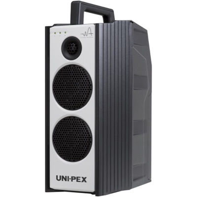 UNI-PEX 800MHz CDプレーヤー付ワイヤレスアンプ ダイバシティ WA-872CD