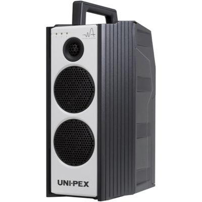UNI-PEX 300MHz SU/USBレコーダー付ワイヤレスアンプ ダイバシティ WA-372SU