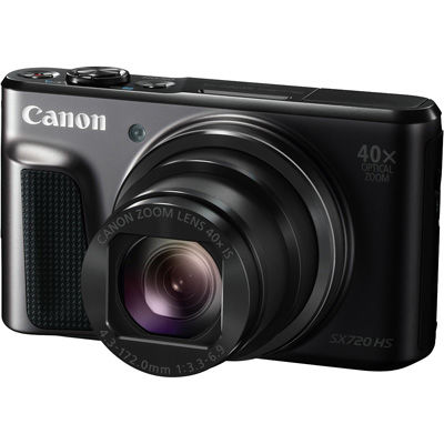 キヤノン コンパクトデジタルカメラPowerShot SX720 HS(ブラック) PSSX720HS-BK【納期目安:1週間】