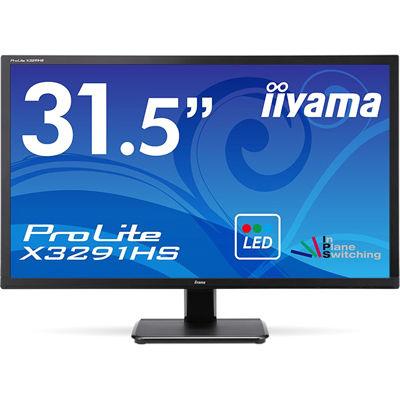 イーヤマ <ProLite>31.5インチ ワイド 液晶ディスプレイ(1920x1080/D-Sub15Pin ワイド/HDMI/DVI/スピーカー/WLED イーヤマ/ハーフグレア/AH-IPSパネル/マーベルブラック) X3291HS-B1【納期目安:追って連絡】, プラザ オンライン:b779d3ed --- sunward.msk.ru