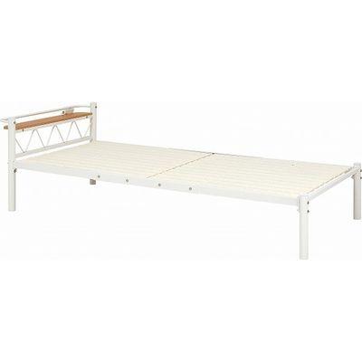 HAGIHARA(ハギハラ) シングルベッド(アイボリー) KH-3704-IV 2090680200