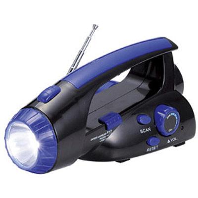 その他 【48個セット】パワーチャージ ライト&FMラジオ手動式 MRTS-30209