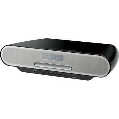 パナソニック 低音を豊かに再生する「ツイステッドポート」搭載コンパクトステレオシステム (ブラック) (SCRS55K) SC-RS55-K