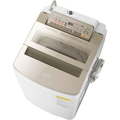 パナソニック 洗濯・脱水容量9kg:乾燥容量4.5kgタテ型インバーター洗濯乾燥機 (シャンパン) (NAFW90S3N) NA-FW90S3-N