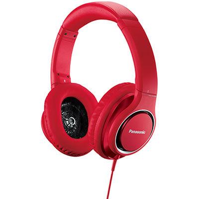 パナソニック ハイレゾ音源対応ステレオヘッドホン(レッド) RP-HD5-R