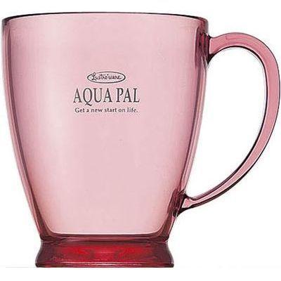 岩崎工業 アクアパルカップ ピンク C-420 P (プラコップ)【60個セット】 4901126142024【納期目安:1週間】