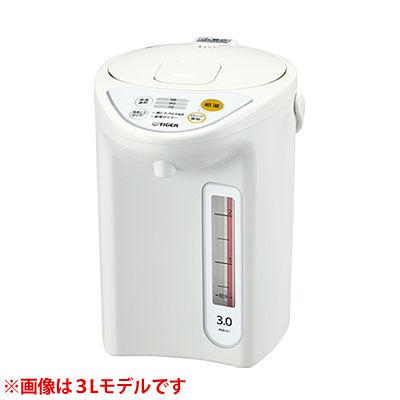 タイガー マイコン電動ポット PDR-G401-W