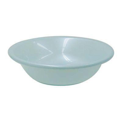 リッチェル 洗面器 浅型 シンプルイズム パールブルー (湯おけ ウォッシュボール)【50個セット】 4973655332078【納期目安:1週間】
