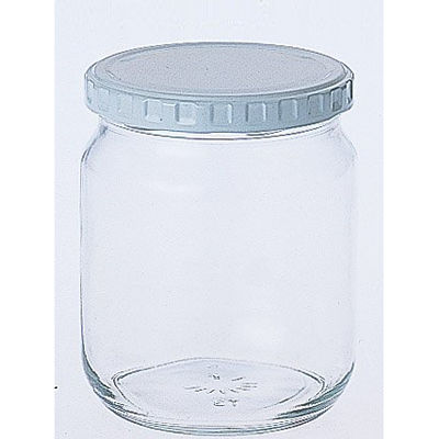 東洋佐々木ガラス ジャム瓶 600 (ガラス瓶 保存容器)【96個セット】 4973251210602【納期目安:1週間】
