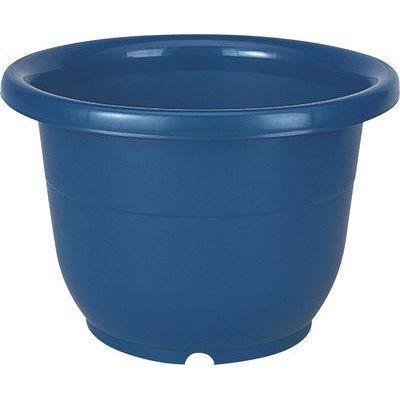 リッチェル 植木鉢 輪鉢 8号 ブルー【60個セット】 4973895716829【納期目安:1週間】