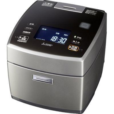 三菱電機 備長炭炭飯釜5.5合炊き炊飯器スマートフォン対応 (NJVA107S) NJ-VA107-S