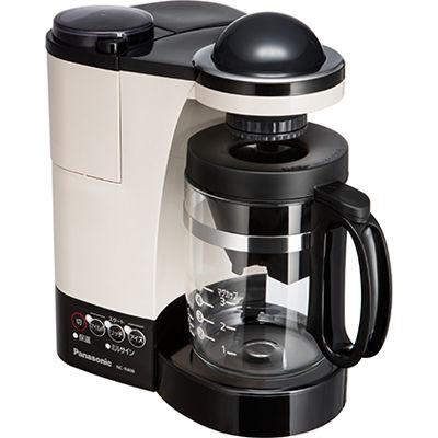 パナソニック コーヒーメーカー 5カップ分 Wドリップ NC-R400-C