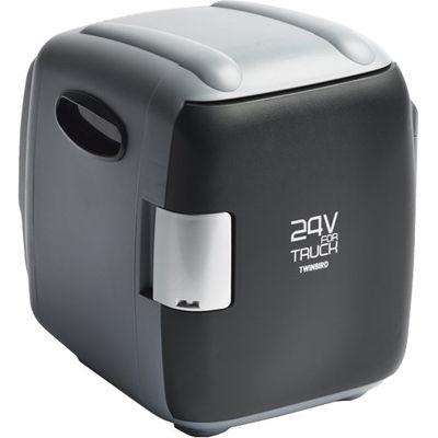 ツインバード 24V専用コンパクト電子保冷保温ボックス(グレー)(※12V車には使用できません) HR-D249GY