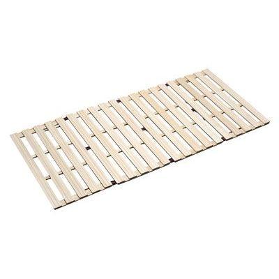 その他 3268 桐四つ折りすのこベッド シングル(長板タイプ) KS-100215