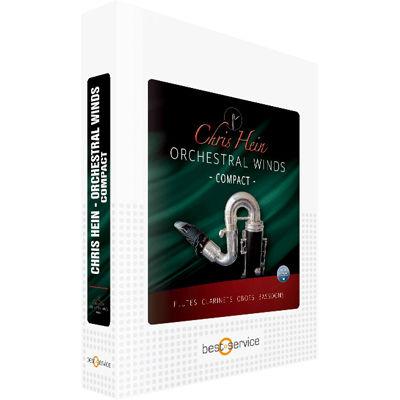 クリプトン・フューチャー・メディア CHRIS HEIN ORCHESTRAL BRASS COMPACT / BOX CHOBC【納期目安:1週間】