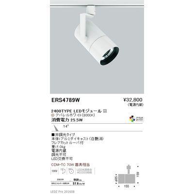 遠藤照明 LEDZ ARCHI series グレアレススポットライト ロングフード ERS4789W