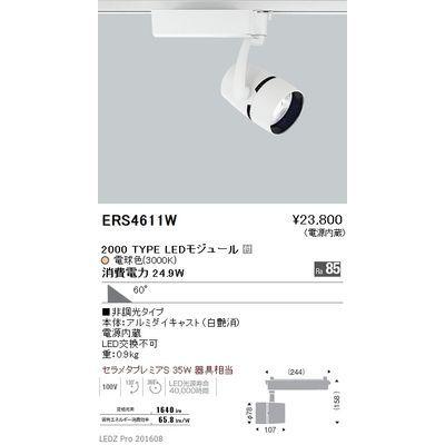 遠藤照明 LEDZ ARCHI series スポットライト ERS4611W