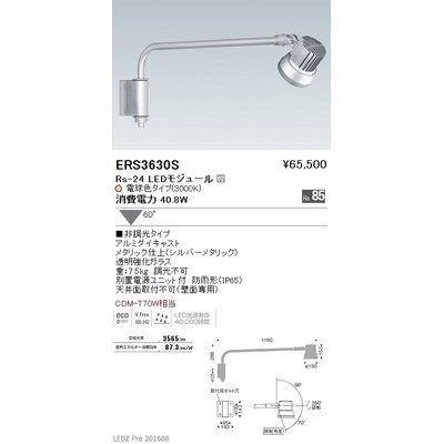 遠藤照明 LEDZ Rs series アウトドアスポットライト(アームタイプ) ERS3630S