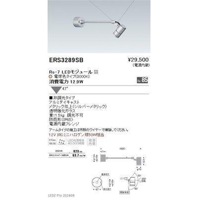 遠藤照明 LEDZ Rs series アウトドアスポットライト(アームタイプ) ERS3289SB