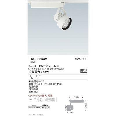 遠藤照明 LEDZ Rs series スポットライト ERS3334W