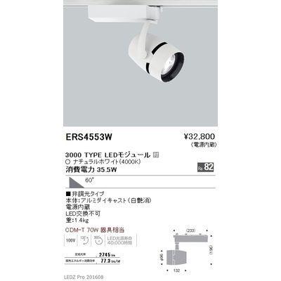 遠藤照明 LEDZ ARCHI series スポットライト ERS4553W