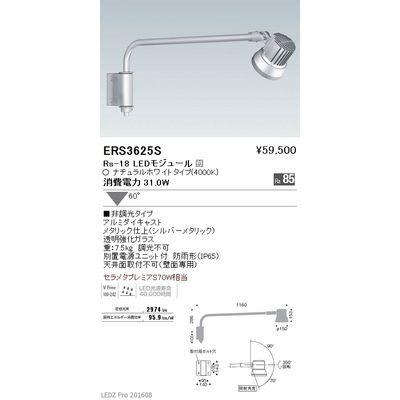 遠藤照明 LEDZ Rs series アウトドアスポットライト(アームタイプ) ERS3625S