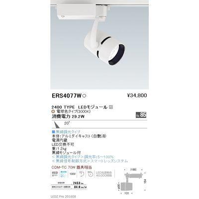 遠藤照明 LEDZ ARCHI series スポットライト ERS4077W