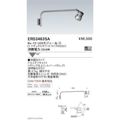 遠藤照明 LEDZ Rs series アウトドアスポットライト(アームタイプ) ERS3463SA