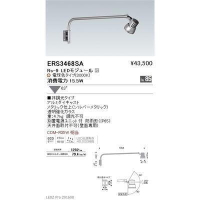 遠藤照明 LEDZ Rs series アウトドアスポットライト(アームタイプ) ERS3468SA