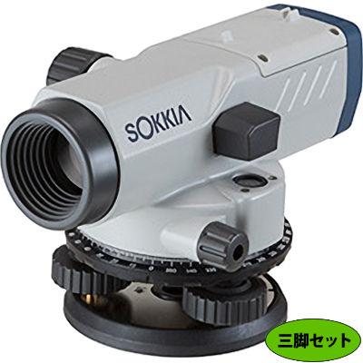 ソキア 自動レベルB40A球面三脚SA-R-2付 B40A