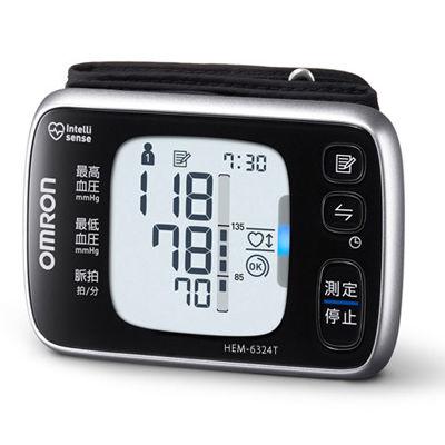 オムロン 測定結果が確認しやすいバックライト付き。手首式血圧計 HEM-6324T