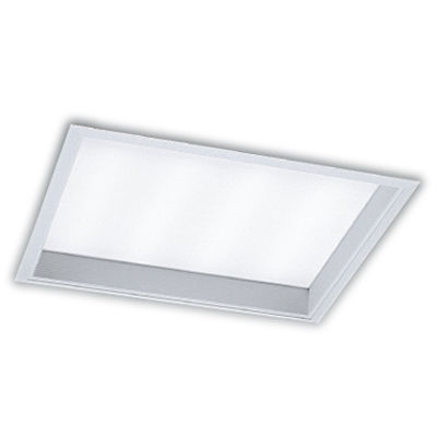 遠藤照明 LEDZ TWIN TUBE series デザインベースライト 下面乳白パネル形(バッフルタイプ) ERK9055W