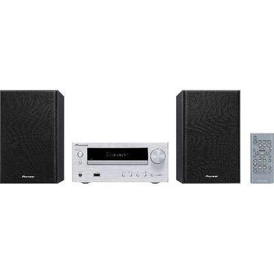 パイオニア CDミニコンポシステム(Bluetooth対応)(シルバー) X-HM26(S)