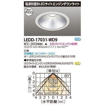 東芝 無線制御ライトエンジンDL LEDD-17031-WD9