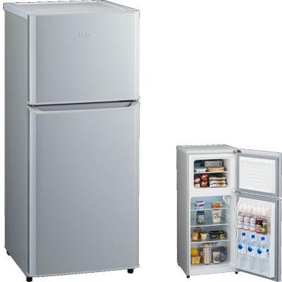 ハイアール 3カラーから選べるミニマムコンパクト! 121L冷凍冷蔵庫(シルバー) JR-N121A-S【納期目安:1週間】